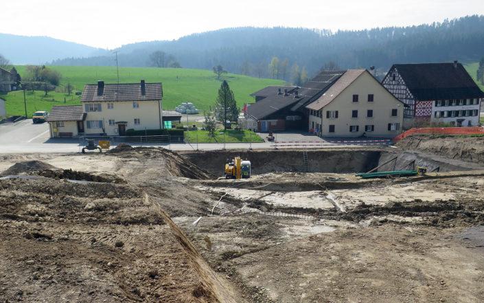 «Schauenbergblick» Baustelle April 2017