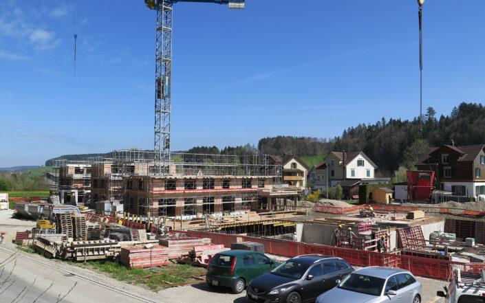 «Im Hasel» Baustelle April 2017