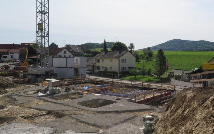 «Schauenbergblick» Schlatt, Baustelle Juni 2017