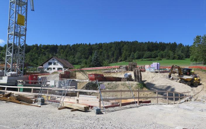 «Schauenbergblick» Schlatt, Baustelle August 2017