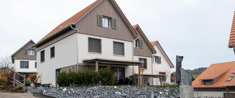 Projekt Schauenbergblick in Schlatt, Haus 9a, 7c, 7b, 7a